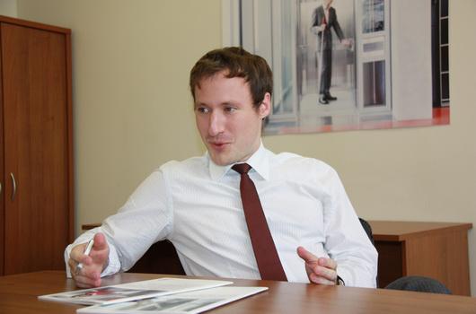 Коммерческий директор компании Schindler Кристиан Вальднер