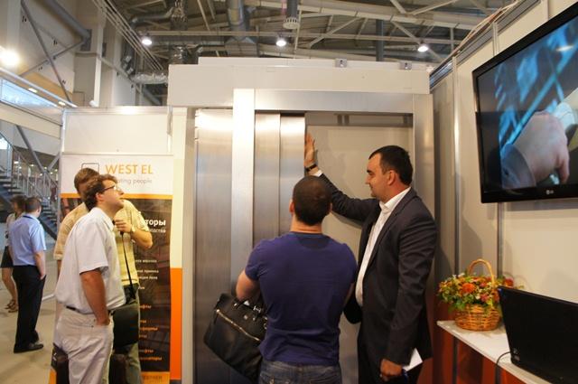 За три дня выставки стенд компании WEST EL посетило большое количество потенциальных клиентов