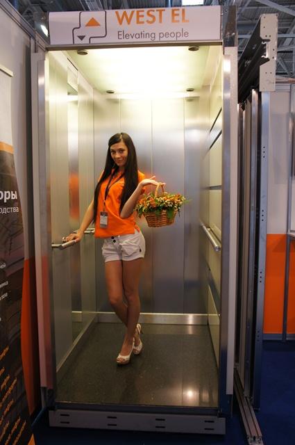 Организацию выставки «Лифт Экспо Россия 2013» оставила благоприятное впечатление