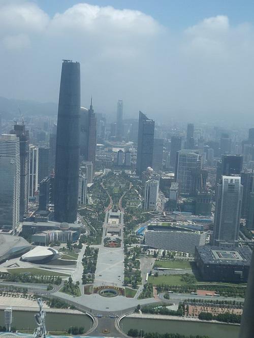 Гуанчжоу с высоты 432м