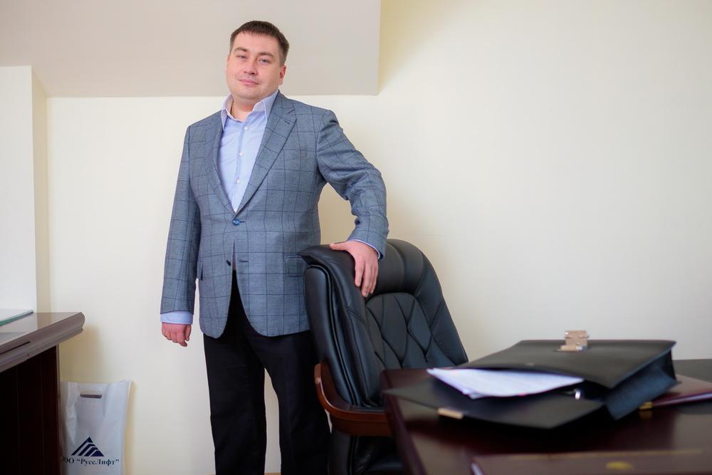 """Генеральный директор ООО """"РуссЛифт"""" Сергей Николаевич Русских"""